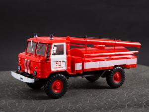 Macheta autospeciala pompieri AC-30 (GAZ 66) scara 1:4315
