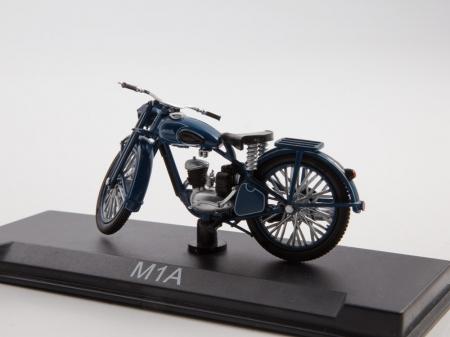 Macheta motocicleta ruseasca M-1-A Moskva, scara 1:24 [6]