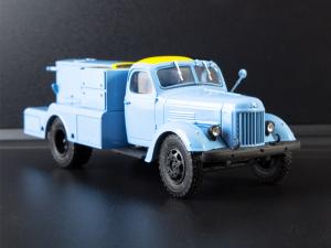 Macheta auto camion demaror avioane APA-35-2 (Zil 164), scara 1:435