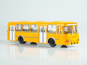 Macheta autobuz LiAZ-677M, scara 1:430