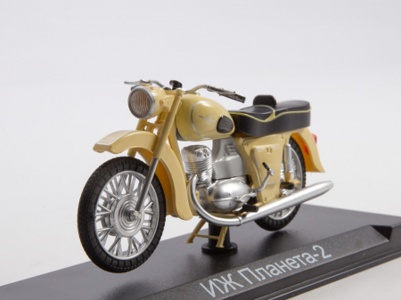 Macheta motocicleta ruseasca IJ-Planeta 2, scara 1:24 [8]