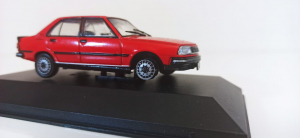 Macheta auto Renault 18 gtx, scara 1:43 - defect1