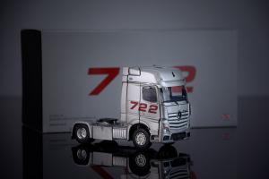 """Macheta cap tractor Mercedes Actros """"722"""", scara 1:504"""