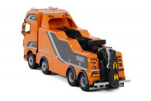 Macheta auto camion depanare Falkom pe sasiu DAF XF SSC, scara 1:503