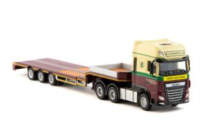 Macheta camion DAF XF SSC 6x4 cu trailer telescopic, scara 1:87 [1]