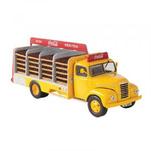 Macheta camion Coca-Cola Ebro B-45, scara 1:433