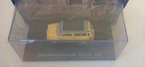 Macheta van Fiat 500 Giardiniera 1960, scara 1:43  -cu mic defect: vitrina fisurata1