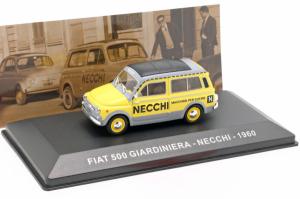 Macheta van Fiat 500 Giardiniera 1960, scara 1:43  -cu mic defect: vitrina fisurata0