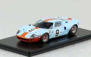 Macheta auto Ford GT40 Le Mans 1968, scara 1:430