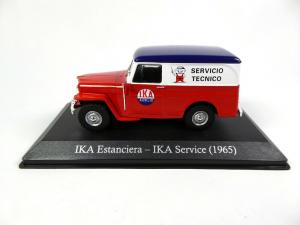 Macheta auto furgoneta IKA Estanciera, scara 1:431