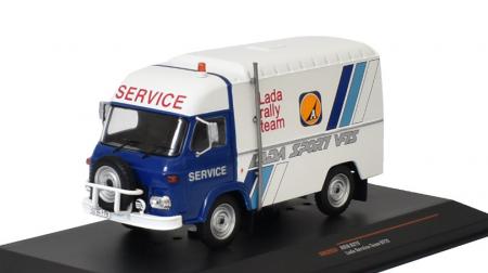 Macheta auto Avia A21F Lada Service Team, scara 1:43 [1]