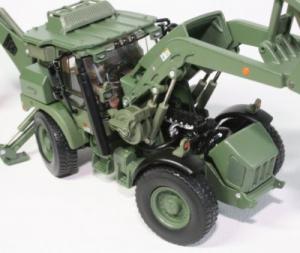 Macheta buldoexcavator militar JCB HMEE, scara 1:501