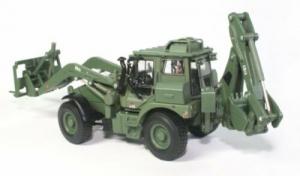 Macheta buldoexcavator militar JCB HMEE, scara 1:504