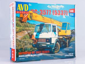 Kit automacara KS-3557 pe sasiu MAZ-5337, scara 1:430