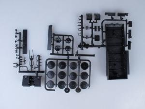 Kit macheta autosenilata GAZ 71 cu prelata, scara 1:431