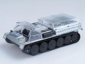 Kit macheta autosenilata GAZ 71 cu prelata, scara 1:433