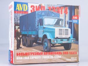 Kit macheta camion cu prelata ZIL-133GA, scara 1:43 [0]