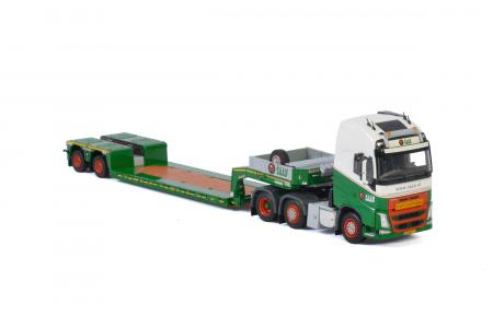 Macheta cap tractor Volvo FH4 6x4 cu traiiler Goldhoffer, scara 1;50 [2]