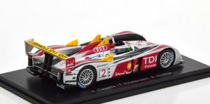 Macheta auto Audi R10 Le Mans 2008, scara 1:431