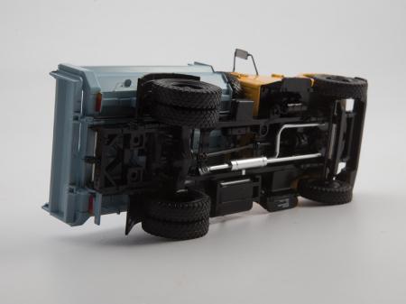 Macheta auto basculanta ZIL-MMZ-4508, scara 1:4310