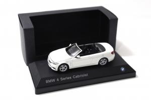 Macheta auto BMW seria 4 cabrio, scara 1:431