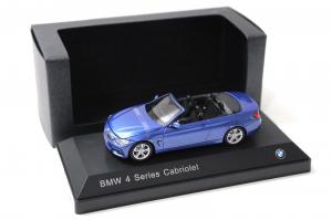 Macheta auto BMW seria 4 cabrio, scara 1:430