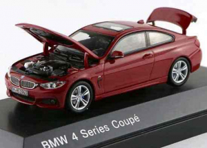 Macheta auto BMW seria 4 coupe, scara 1:431