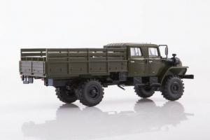 Macheta auto camion 4x4 dubla cabina Ural 43206-0551, scara 1:432