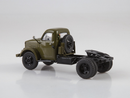 Macheta auto camion cap tractor GAZ-51P, scara 1:431