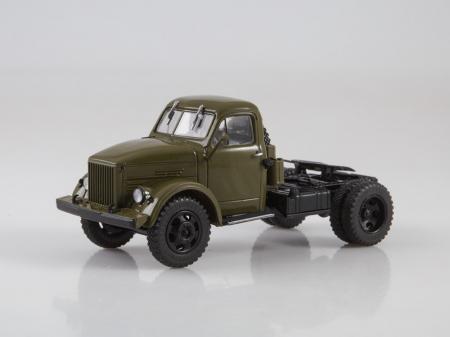 Macheta auto camion cap tractor GAZ-51P, scara 1:430
