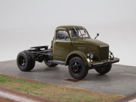 Macheta auto camion cap tractor GAZ-51P, scara 1:438