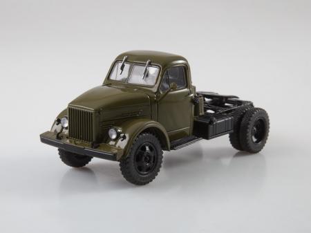 Macheta auto camion cap tractor GAZ-51P, scara 1:436