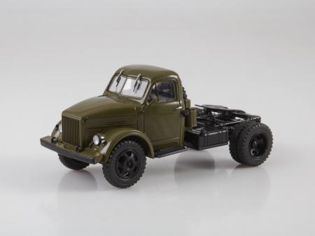 Macheta auto camion cap tractor GAZ-51P, scara 1:434
