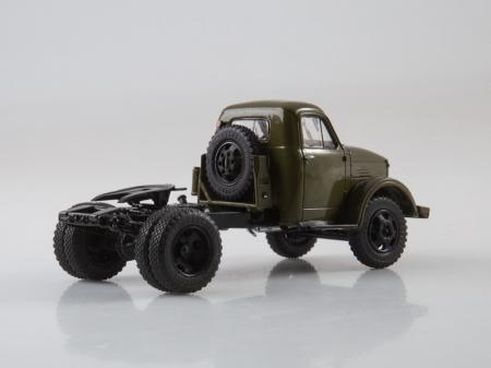 Macheta auto camion cap tractor GAZ-51P, scara 1:435