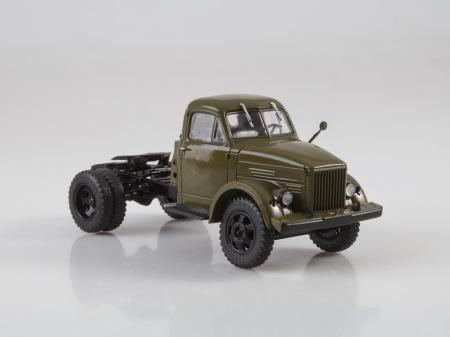 Macheta auto camion cap tractor GAZ-51P, scara 1:433