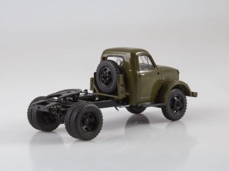Macheta auto camion cap tractor GAZ-51P, scara 1:432