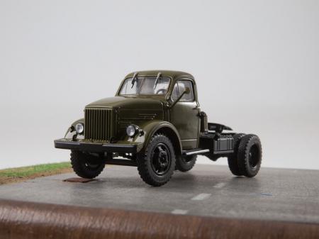 Macheta auto camion cap tractor GAZ-51P, scara 1:437