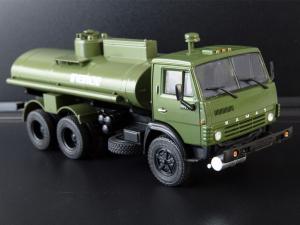 Macheta auto camion cisterna AC-9 (Kamaz-5320), scara 1:430