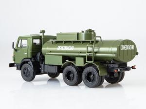 Macheta auto camion cisterna AC-9 (Kamaz-5320), scara 1:432