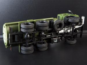 Macheta auto camion cisterna AC-9 (Kamaz-5320), scara 1:435