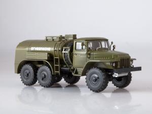 Macheta auto camion cisterna TZ-5 (Ural-375), scara 1:432