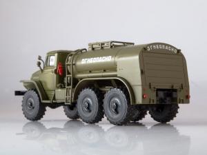 Macheta auto camion cisterna TZ-5 (Ural-375), scara 1:431