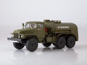 Macheta auto camion cisterna TZ-5 (Ural-375), scara 1:430