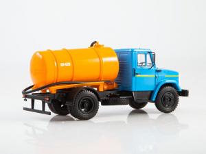 Macheta auto camion vidanja KO-540 (ZIL-4333), scara 1:43 [3]