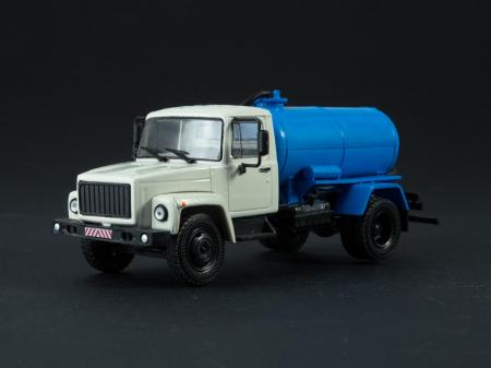 Macheta auto camion vidanja KO-503V (ZIL-3307), scara 1:43 [0]