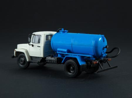 Macheta auto camion vidanja KO-503V (ZIL-3307), scara 1:43 [1]