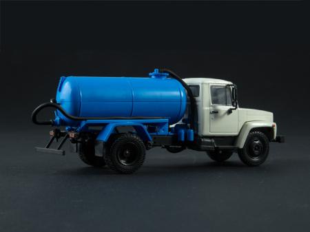 Macheta auto camion vidanja KO-503V (ZIL-3307), scara 1:43 [2]