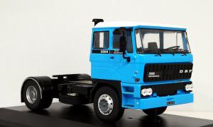 Macheta auto cap tractor DAF 2800, scara 1:430
