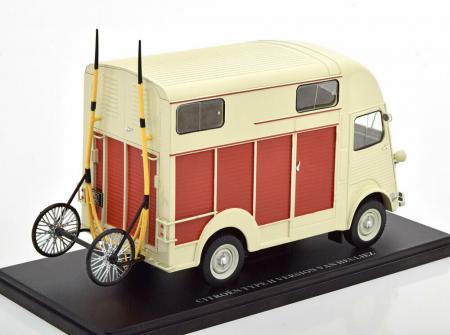 Macheta auto Citroen Type H Heuliez 1958 , scara 1:24 [1]