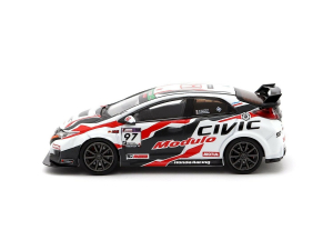 Macheta auto de raliu Honda Civic Type R 2017 Super Taikyu, scara 1:432